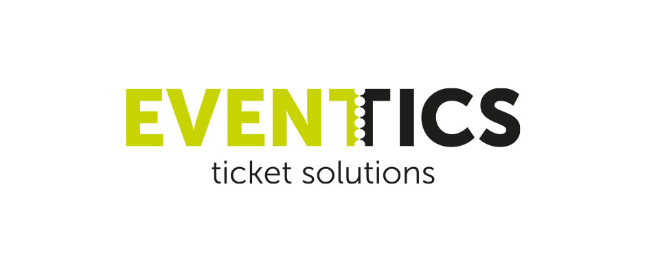 Ontwerp logo Eventics online ticket solutions