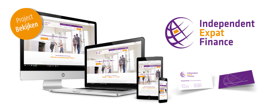 Responsive website ontwerp Independent Expat Finance