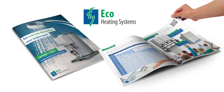 Ontwerp brochure Eco Heating Systems